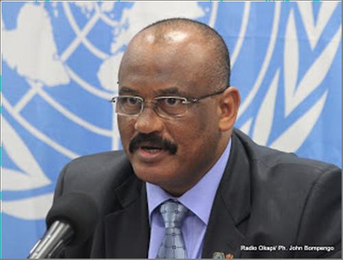 Abdallah Waffy représentant spécial du S.G de l'ONU en RDC