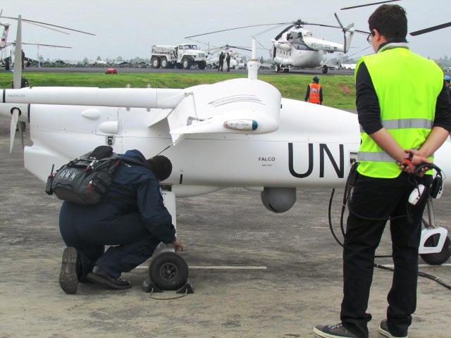Drone de la Monusco