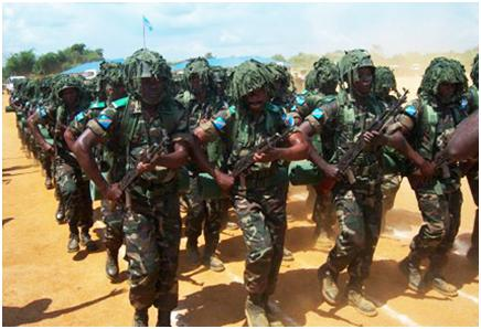 Les militaires des FARDC