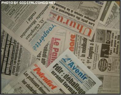 Les journaux paraissant à Kinshasa