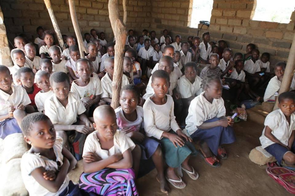 Elèves d'une école de Tabacongo (à 10 Km de Kalemie