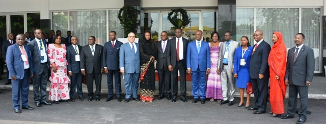 La photo de famille des Ministres de la CEEAC à Kinshasa