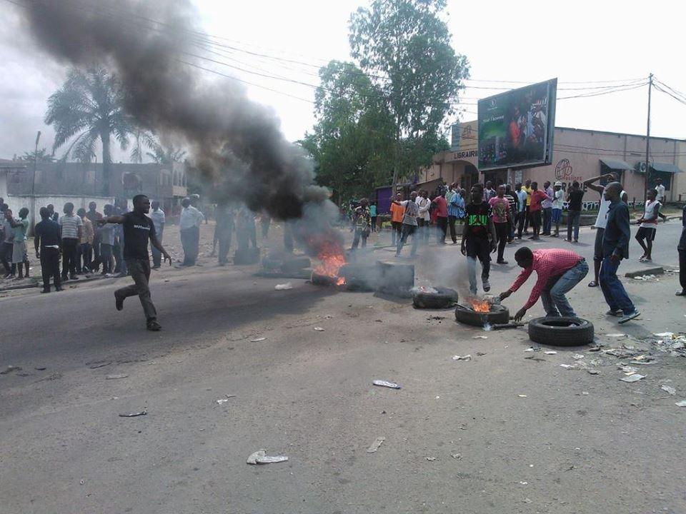 Manifestations poulaires à Kinshasa