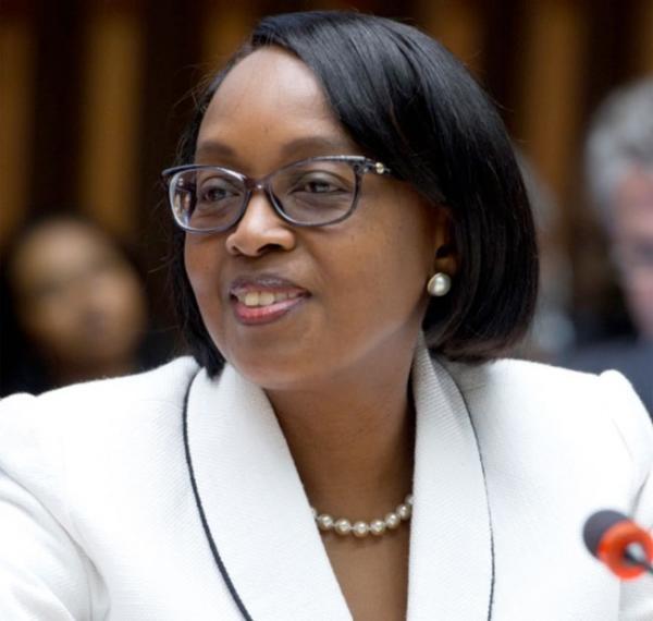 Dr Matshidiso Rebecca  Moeti, Directrice de l'OMS pour l'Afrique