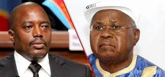 De gauche à droite, Kabila et Tshisekedi