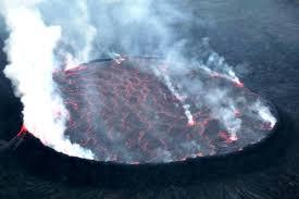 Le Volcan Nyiragongo à Goma (Photo: Monusco)