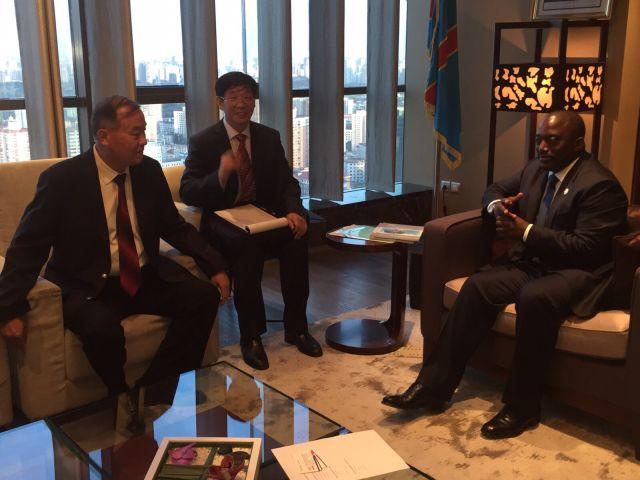 Joseph Kabila reçoit les investisseurs chinois