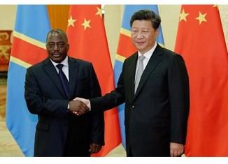 Le congolais J.Kabila et le chinois Xin Jimping