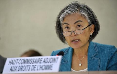 Mme Kyung-Wha Kang, Sous-secrétaire générale de l'ONU aux affaires humanitaires