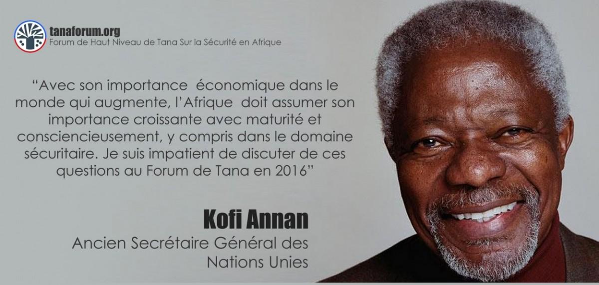 L'affiche de Koffi Annan