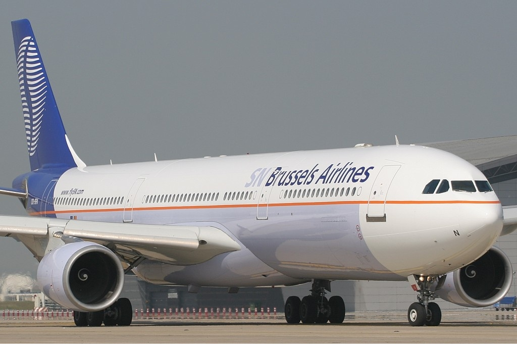 Airbus A330-300 de SN Brussels Airlines