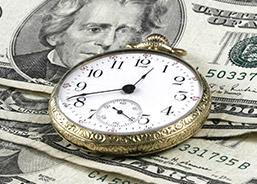 La course à la montre et à l'argent