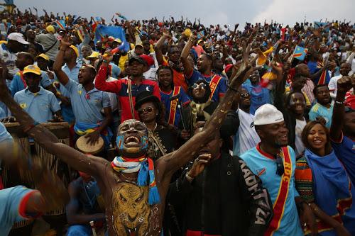 Les Supporters congolais au Rwanda