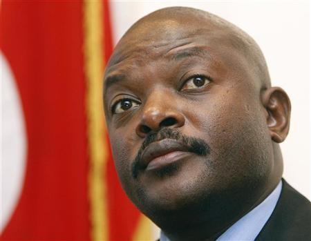 Le président burundais P. Nkuruziza