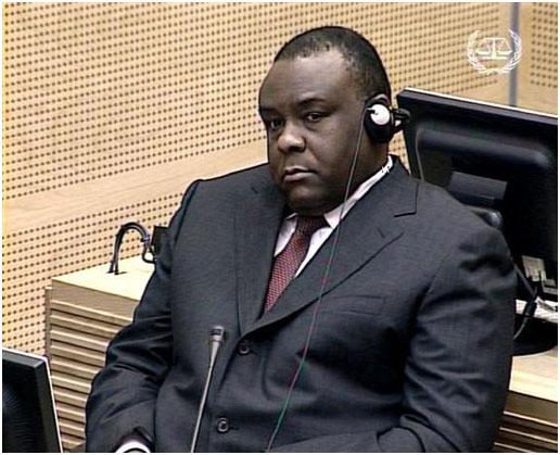 Le sénateur J.P Bemba à la Haye