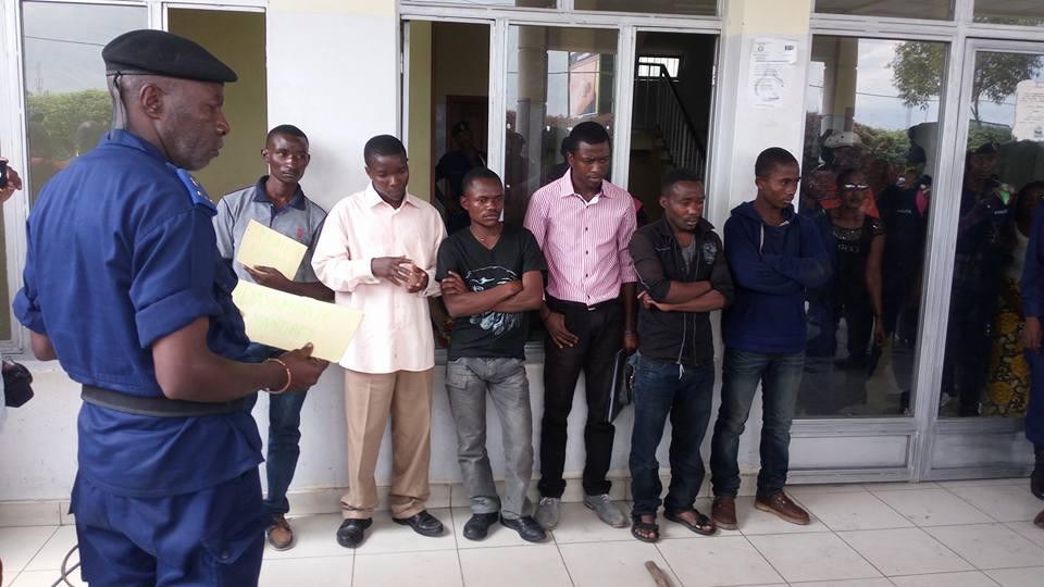 Des présumés auteurs des troubles interpellés par la Police
