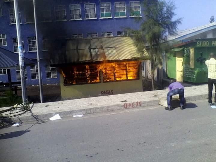 Bâtiment de l'Université de Goma
