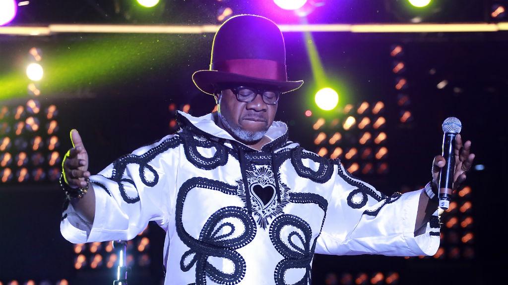 Papa Wemba au Festival, peu avant l'incident