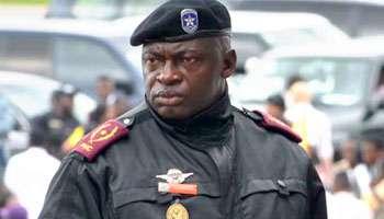 Le commissaire provincial de la Police de Kinshasa, Célestin Kanyama